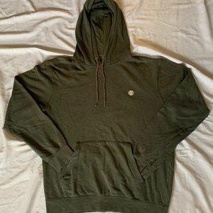 Green element hoodie